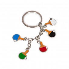 Keychain small rackets colors