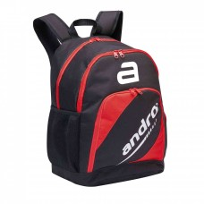 andro backpack Bigpack Lumen black/red