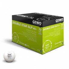 GEWO Ball Double Star SLP 40+ 72er white