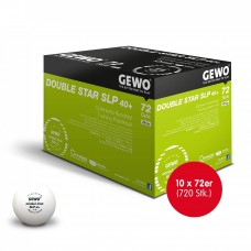 GEWO Ball Double Star SLP 40+ 10x 72er (720 Stk.)