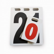 Universal replacement numbers 0-21 white