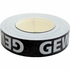 Gewo edge tape 9mm/5m black/silver
